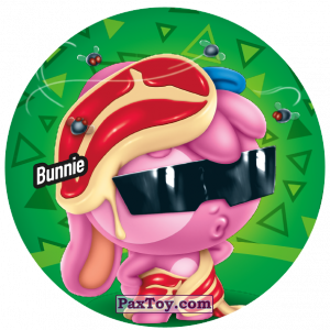 PaxToy.com  Фишка / POG / CAP / Tazo 216 Bunnie из Gamesa: Super Funki Punky