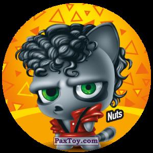PaxToy.com  Фишка / POG / CAP / Tazo 218 Nuts из Gamesa: Super Funki Punky