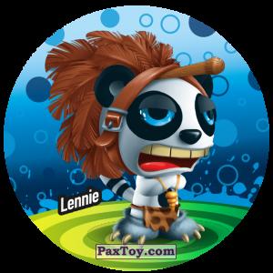 PaxToy.com  Фишка / POG / CAP / Tazo 220 Lennie из Gamesa: Super Funki Punky