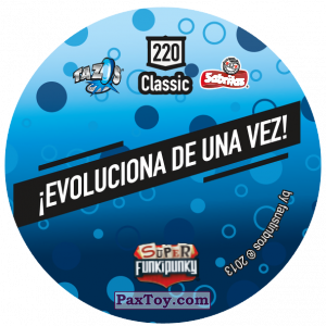 PaxToy.com - Фишка / POG / CAP / Tazo 220 Lennie (Сторна-back) из Gamesa: Super Funki Punky