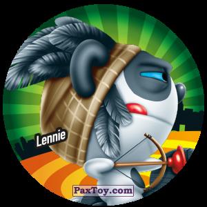 PaxToy.com  Фишка / POG / CAP / Tazo 223 Lennie из Gamesa: Super Funki Punky
