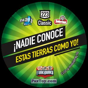 PaxToy.com - Фишка / POG / CAP / Tazo 223 Lennie (Сторна-back) из Gamesa: Super Funki Punky