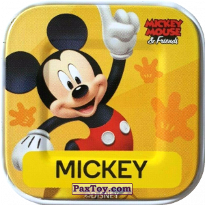 PaxToy.com - 23 Mickey из Woolworths: Disney Words