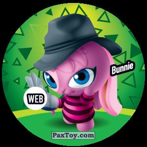 PaxToy.com  Фишка / POG / CAP / Tazo 232 Bunnie (WEB) из Gamesa: Super Funki Punky
