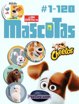 PaxToy Cheetos   2016 La Vida Secreta De Tus Mascotas logo tax