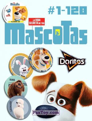 PaxToy Doritos   2016 La Vida Secreta De Tus Mascotas logo tax