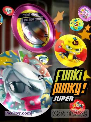 PaxToy Gamesa   2013 Super Funki Punky (236 TAZOs)   logo tax