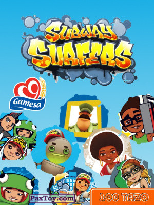 PaxToy Gamesa   2014 Subway Surfers   Logo tax