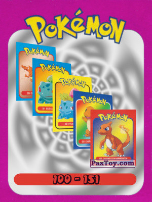 PaxToy Pokemon 2002 mini Box   logo tax