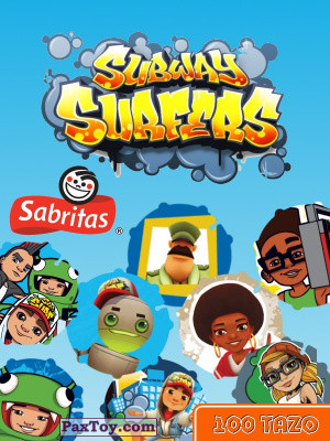 PaxToy Sabritas   2014 Subway Surfers   logo tax 2
