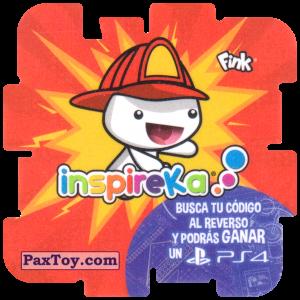 PaxToy.com - 01 Fireman из Cheetos: Inspireka - Busca tu codigo al reverso y podras ganar un PS4 (TAZOS / Q-Bitazos)