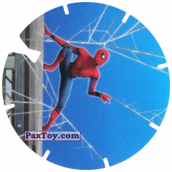 PaxToy 02 Spider Man on the wall
