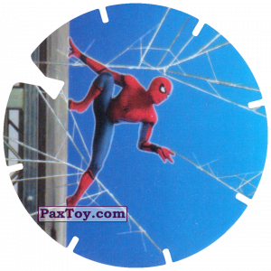 PaxToy.com - 02 Spider-Man on the wall (MEGA TAZO) из Doritos: Spider-Man Lejos De Casa (MEGA TAZOS)