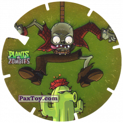 PaxToy 03 Bungee Zombie and Cactus