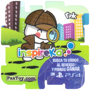 PaxToy.com - 03 Detective из Cheetos: Inspireka - Busca tu codigo al reverso y podras ganar un PS4 (TAZOS / Q-Bitazos)