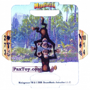 PaxToy.com - 03 Mason and Phil из Estrella: Madagascar (TAZOS / Q-Bitazos)
