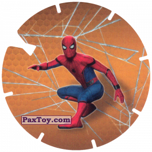 PaxToy.com - 03 Spider-Man on the ground (MEGA TAZO) из Doritos: Spider-Man Lejos De Casa (MEGA TAZOS)