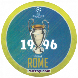 PaxToy.com - 04 1996 Rome из Sabritas: Football Champions League 2019