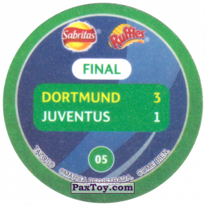 PaxToy.com - 05 1997 Munich (Сторна-back) из Sabritas: Football Champions League 2019