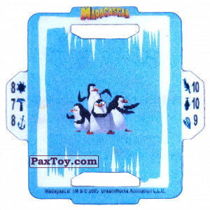 PaxToy.com - 05 Penguins из Estrella: Madagascar (TAZOS / Q-Bitazos)