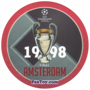 PaxToy.com - 06 1998 Amsterdam из Sabritas: Football Champions League 2019