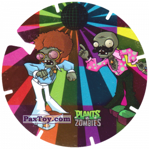 PaxToy.com - 06 Disco Zombies из Gamesa: Plants Vs. Zombies TAZOS