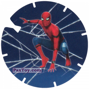 PaxToy.com - 06 Landing Spider-Man (MEGA TAZO) из Doritos: Spider-Man Lejos De Casa (MEGA TAZOS)