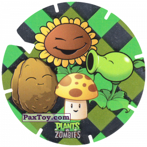 PaxToy.com - 07 Plants из Gamesa: Plants Vs. Zombies TAZOS