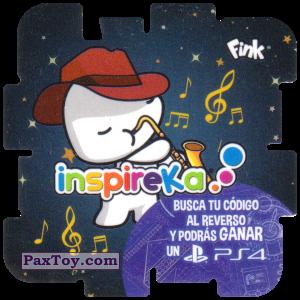 PaxToy.com - 08 Saxophonist из Cheetos: Inspireka - Busca tu codigo al reverso y podras ganar un PS4 (TAZOS / Q-Bitazos)