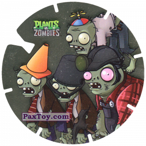 PaxToy.com - 08 Zombies из Gamesa: Plants Vs. Zombies TAZOS