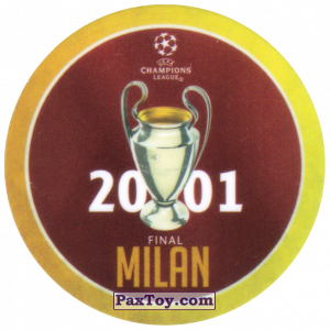 PaxToy.com - 09 2001 Milan из Sabritas: Football Champions League 2019