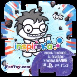 PaxToy.com - 09 Crazy Professor из Cheetos: Inspireka - Busca tu codigo al reverso y podras ganar un PS4 (TAZOS / Q-Bitazos)