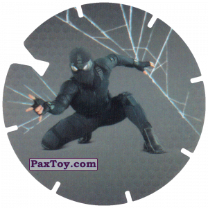 PaxToy.com - 09 Dark Spider-Man из Doritos: Spider-Man Lejos De Casa (CLASSIC TAZOS)