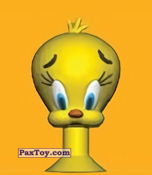 PaxToy.com - 09 Tweety из Migros: Tom & Jerry and Looney Tunes Stikeez