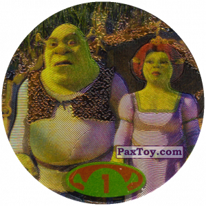 PaxToy.com - 1 Shrek & Fiona из Cheetos: Shrek 2 (50 штук)