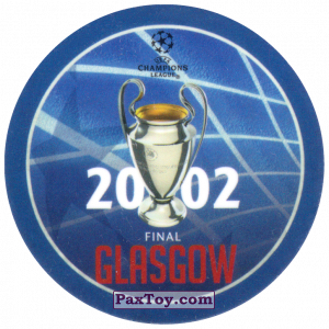 PaxToy.com - 10 2002 Glasgow из Sabritas: Football Champions League 2019
