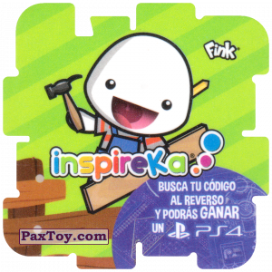 PaxToy.com - 10 Carpenter из Cheetos: Inspireka - Busca tu codigo al reverso y podras ganar un PS4 (TAZOS / Q-Bitazos)