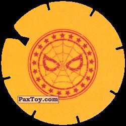 PaxToy 10 Yellow Tazo   Logo Spider Man