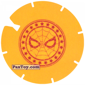 PaxToy.com - 10 Yellow Tazo - Logo Spider-Man из Doritos: Spider-Man Lejos De Casa (CLASSIC TAZOS)