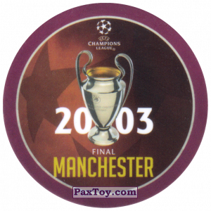 PaxToy.com - 11 2003 Manchester из Sabritas: Football Champions League 2019