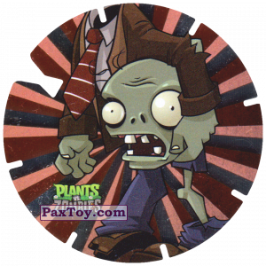 PaxToy.com - 11 Zombies head in hands из Gamesa: Plants Vs. Zombies TAZOS
