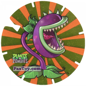 PaxToy.com - 12 Chomper из Gamesa: Plants Vs. Zombies TAZOS