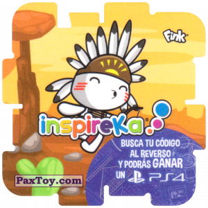 PaxToy.com - 12 Indian из Cheetos: Inspireka - Busca tu codigo al reverso y podras ganar un PS4 (TAZOS / Q-Bitazos)