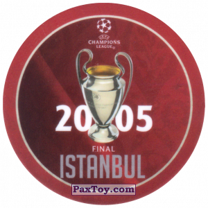 PaxToy.com - 13 2005 Istanbul из Sabritas: Football Champions League 2019