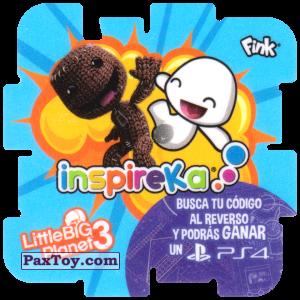PaxToy.com - 13 Explosions из Cheetos: Inspireka - Busca tu codigo al reverso y podras ganar un PS4 (TAZOS / Q-Bitazos)