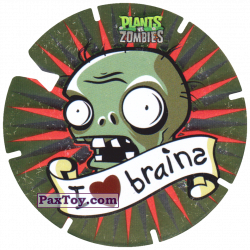 PaxToy 13 I Love brains
