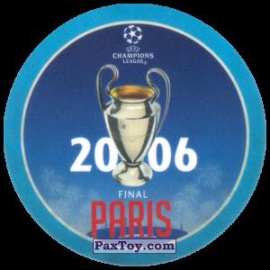 PaxToy.com - 14 2006 Paris из Sabritas: Football Champions League 2019