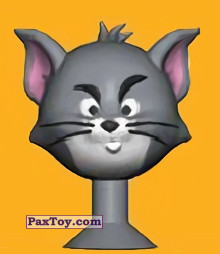 PaxToy.com - 14 Tom stern look из Migros: Tom & Jerry and Looney Tunes Stikeez