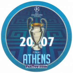 PaxToy.com - 15 2007 Athens из Sabritas: Football Champions League 2019