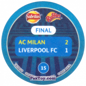PaxToy.com - 15 2007 Athens (Сторна-back) из Sabritas: Football Champions League 2019
